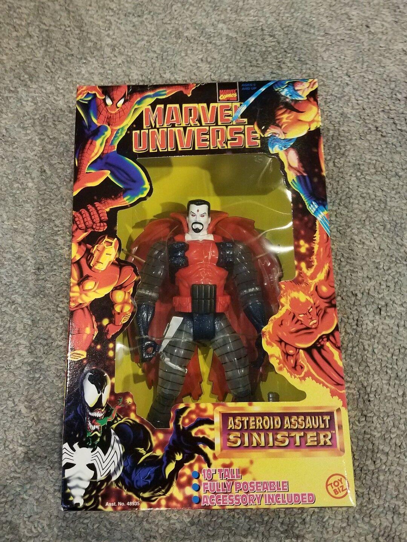 Mr. Sinister Asteroid Assault 10 inch Marvel Universe  X-Men Supernova Phoenix