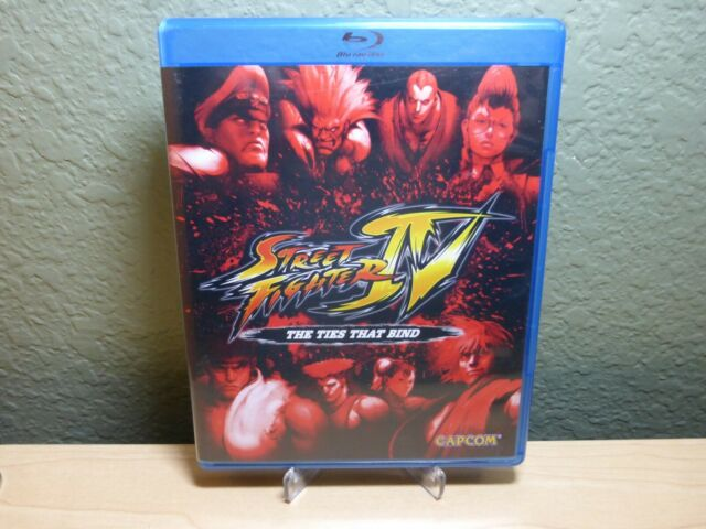 Street Fighter Iv The Ties That Bind Blu Ray Cd Two Disc Combo