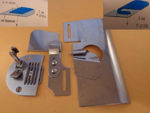 "3//8/"" JUKI DDL-555 5030,8700 Lap couture dossier manches Attachment choisir 1//8/"" 1//4/"""