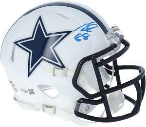 CeeDee Lamb Dallas Cowboys Signed Flat White Alternate Revolution Mini Helmet