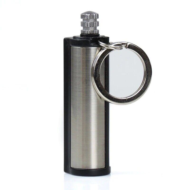 Fire Starter Emergency Flint Match Lighter Outdoor Camping Survival Keychain UK