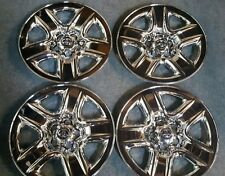 "2006-12 Toyota Rav 4 17"" Chrome Wheel Skin Hubcap Hub Caps Covers Set of 4"
