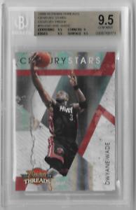 2009-10-Dwyane-Wade-Panini-Threads-Stars-Century-Proof-x-100-Gem-Mint-9-5-Card