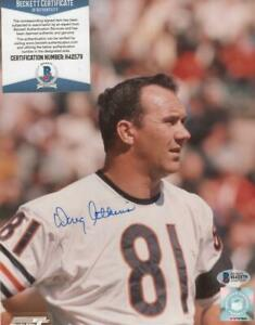 Doug Atkins Signed Autographed Chicago Bears 8x10 inch Photo Deceased 2015