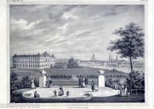 Dresden-grosse-Lithographie-1840-selten