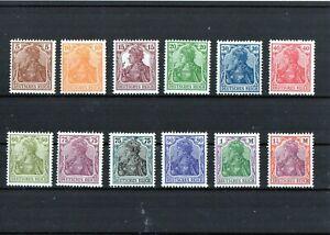 Lot - DR - Germania 1916 - 1922 - Einzelmarken - Ungebraucht ohne Gummi (*)