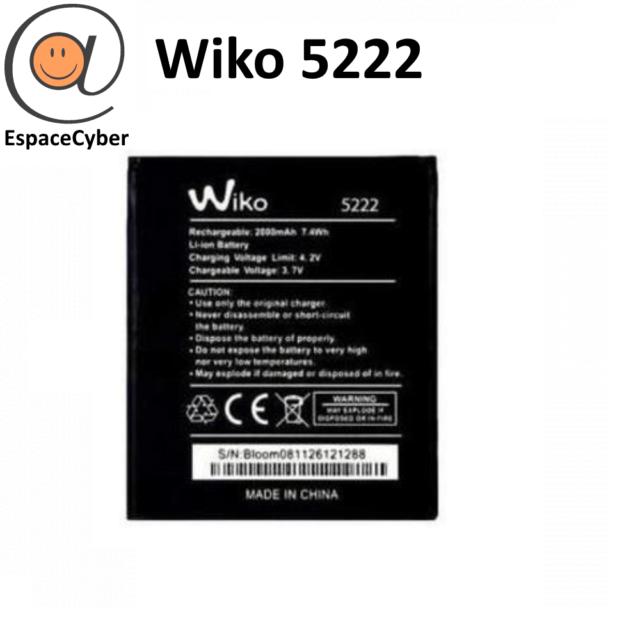 Batterie Wiko 5222 Rainbow 3G / Rainbow Lite 4G / Freddy / Rainbow Jam - 2000 mA