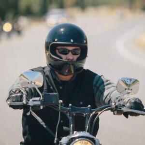 Full Face Cruiser Helmets >> Details About Gringo Style Helmet Full Face Motorcycle Vintage Cruiser Dot S 2xl Fiberglass