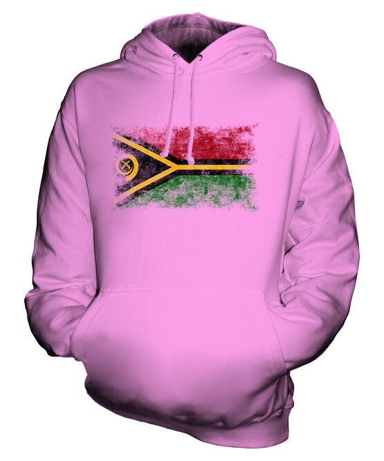 VANUATU WEINLESE FLAGGE UNISEX KAPUZENPULLOVER HOODIE PULLI HOODY HERREN DAMEN