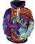 3D Print hyper beast Funny cartoon Unisex Hoodie Sweatshirt Jacket Pullover Top