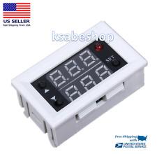 Mini Dc 12v 20a Digital Relay Module Led Dual Display Timer Timing Delay Cycle
