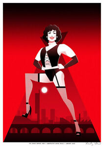 Rocky Horror by Stanley Chow - Signed and stamped archival Giclee print