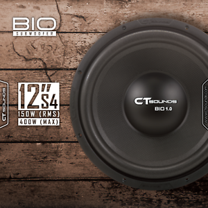 CT-Sounds-Bio-1-0-300w-MAX-150-watt-RMS-12-Inch-S4-Ohm-Car-Audio-Subwoofer-Sub