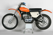 1975 SUZUKI TM125 VINTAGE DIRTBIKE MOTORCYCLE AD POSTER PRINT 28x36 9MIL PAPER