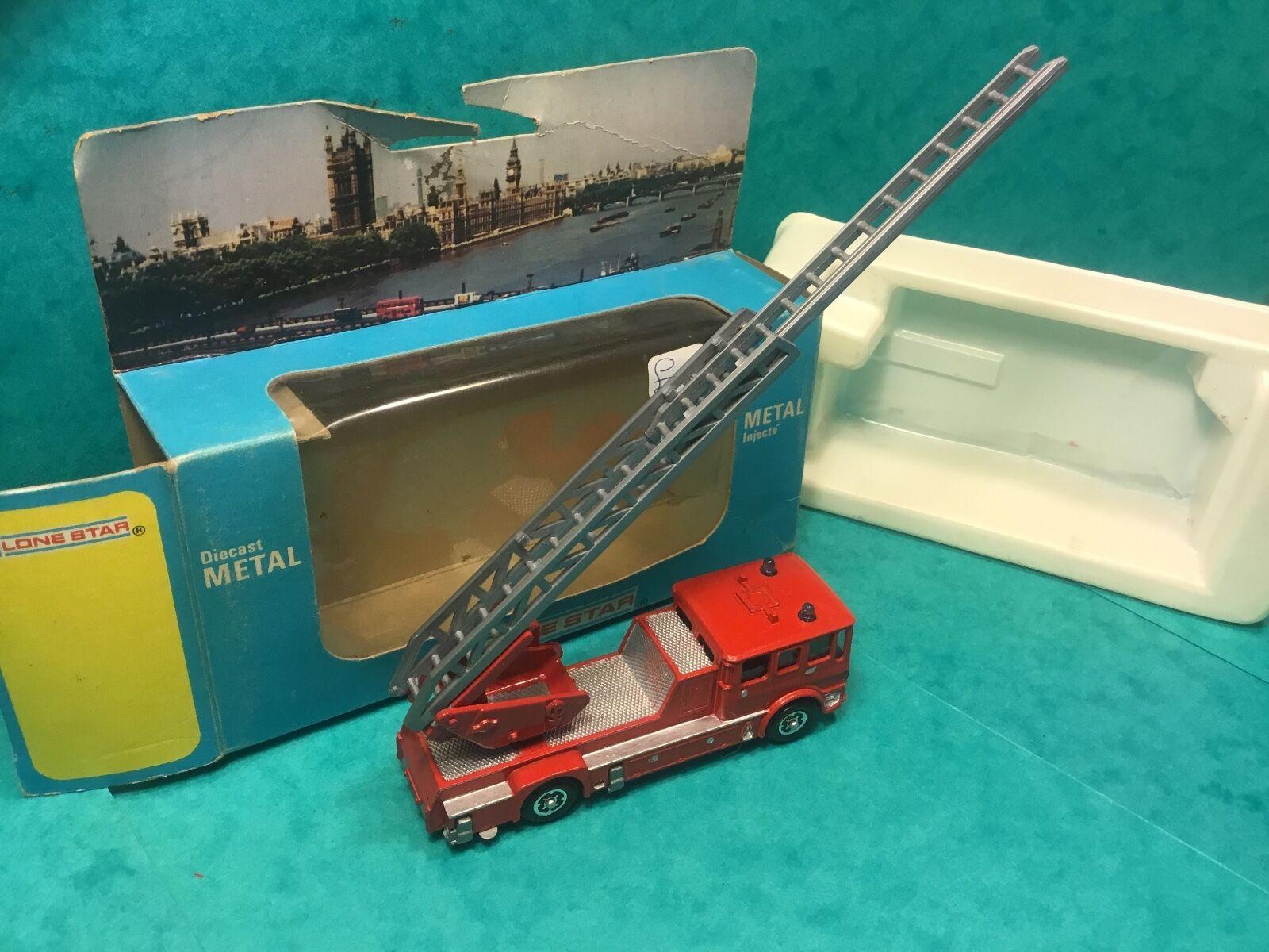 tiempo libre Lone Estrella Diecast Metal 1980 feliz clima h.t.t.l bomberos Impy Impy Impy súper coches  entrega gratis