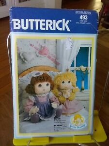 Oop-Butterick-Special-Blessings-493-18-034-dolls-clothes-poster-transfer-NEW