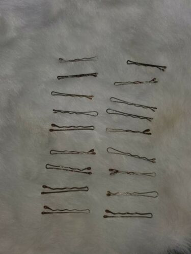 Doll Size Bobby Hair Pins 18 piece Lot Ginny Toni Shirley Temple American Girl