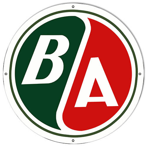 Large BSA Motorcycle Reproduction Metal Sign 18x18