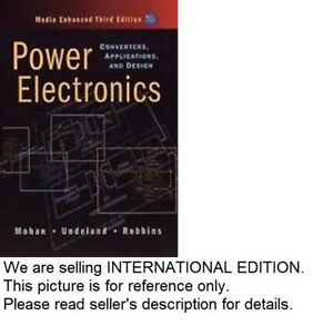 Details about Power Electronics : Converters, Applications, and Design(CD  INCLUDED)