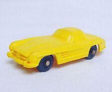 Tomte Laerdal 1:43 MERCEDES-BENZ 300 SL COUPE Yellow Vinyl PVC Car #5 NM`60 RARE