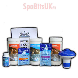 8 Pc 1kg Bromine Chemical Starter Kit Hot Tub Spa Pool Ebay