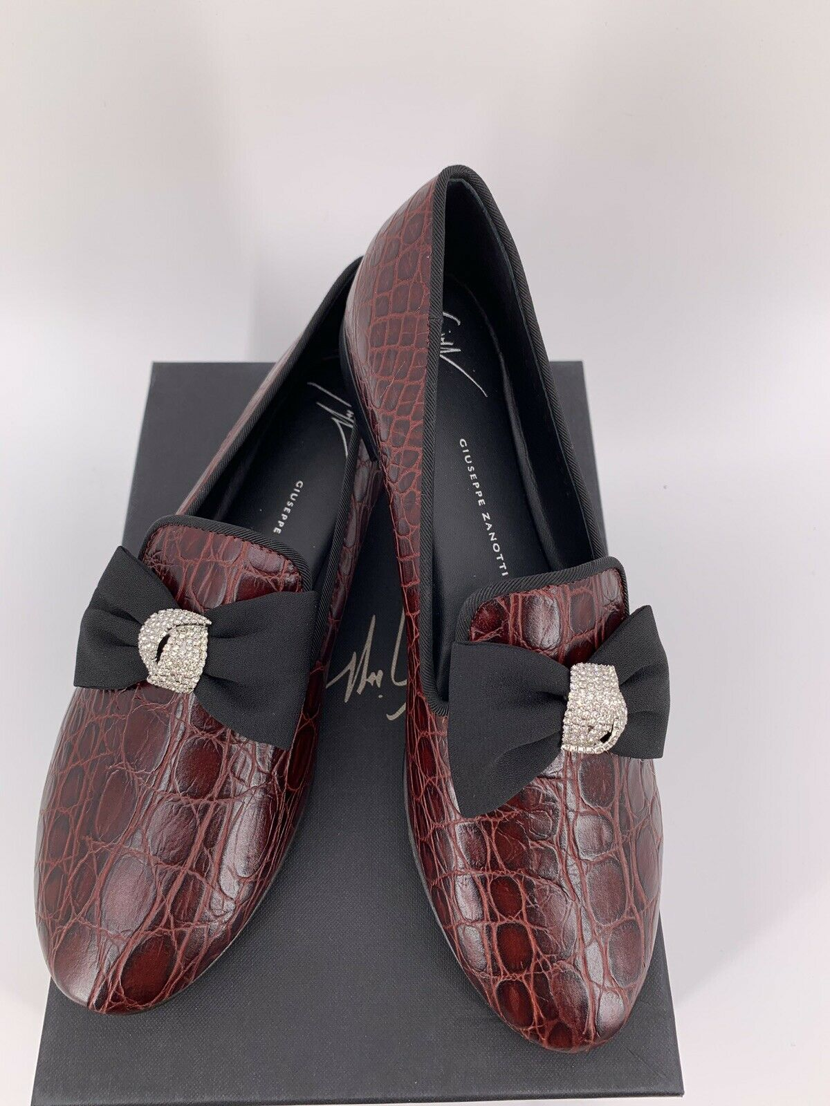 Neu Luxury Original Giuseppe Zanotti Loafers Pumps Damen Gr-39 LP-