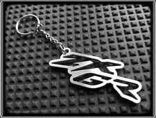 KEYRING for KAWASAKI ZX6R 636 NINJA ZX - STAINLESS STEEL - HAND MADE - CHAIN FOB