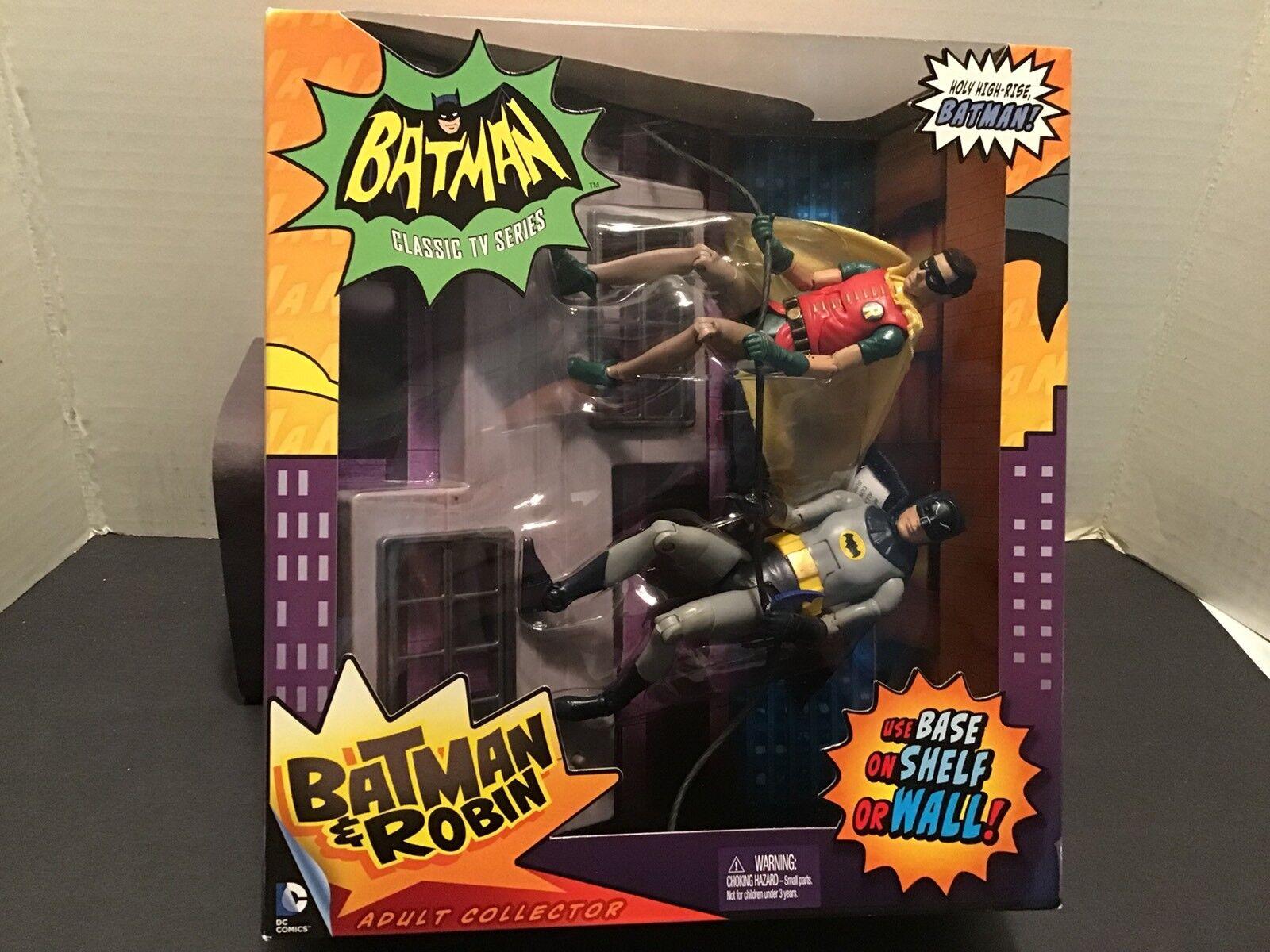 Mattel Batman Classics TV  Batman And Robin Deluxe Box Set