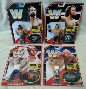 WWE-Complete-Set-Series-3-WWF-Hasbro-Style-Retro-WWE-Wrestling-Figures-Mattel