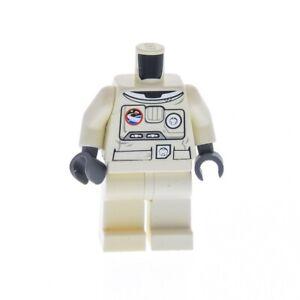 1x-Lego-Figur-Mann-Astronaut-City-Torso-weiss-bedruckt-Beine-weiss-973pb0861c01