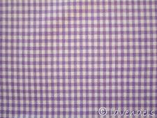 Vichy Karo Stoff Baumwolle ♥ kariert Baumwollstoff lila Baumwollstoff