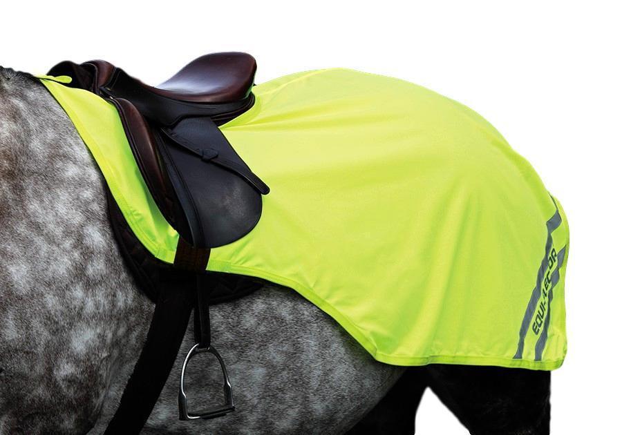 Shires Equi-Flector Exercise Sheet Fleece Lining Reflective Stripes