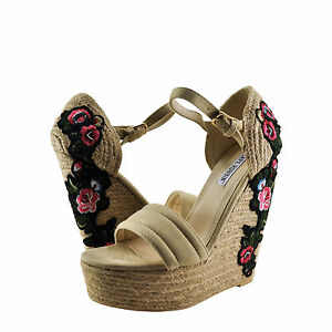 9782ef0e048 Image is loading Womens-Shoes-Cape-Robbin-Zelda-8-Floral-Embroidered-