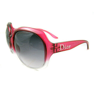 Dior Sunglasses Glossy 1 Pink Shaded Dark Grey Gradient G35 BD