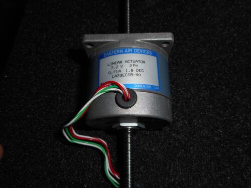 EASTERN AIR DEVICES LA23ECSB-4A LINEAR ACTUATOR 7.2V 2PH 0.71A 1.8 DEG />