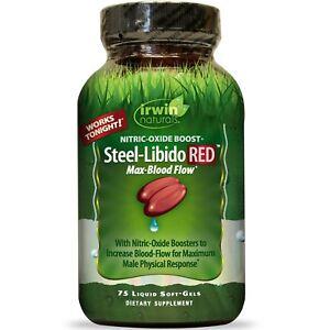 Irwin-Naturals-Steel-Libido-Red-Magnum-Blood-Flow-75-Liquid-Soft-Gels
