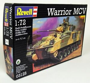 Revell 1/72 Scale 03128 Warrior Mcw Tank Plastic Model Kit Militaire-afficher Le Titre D'origine Belle Apparence