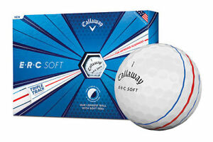 New 2019 Callaway ERC Soft Triple Track Golf Ball Dozen