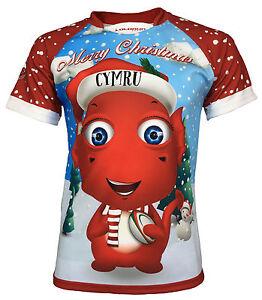 Olorun Ddraig Nadolig Olorun Kids  Christmas Rugby Shirt ... 6cd6f946d