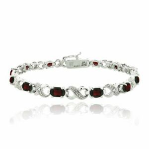 7-8CT-Ruby-Made-with-Swarovski-Elements-Infinity-Bracelet-in-18K-White-Gold