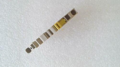 dunkelbeige Prüftrenn-Reihenklemme Zugfederanschluss ZTR 2,5-2