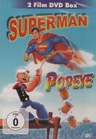 Superman  Popeye  mit 124 Minuten Lauflänge Die DVD ist  Neu & OVP
