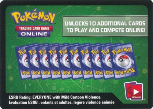 100x POKEMON XY9 BREAKPOINT ONLINE CODE CARDS NEW & UNUSED IN HAND!