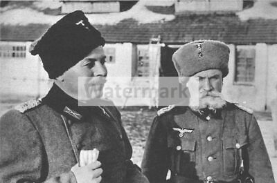 WWII photo Cossacks from the 5th Don Wehrmacht Regiment are dancing for a Ge 116