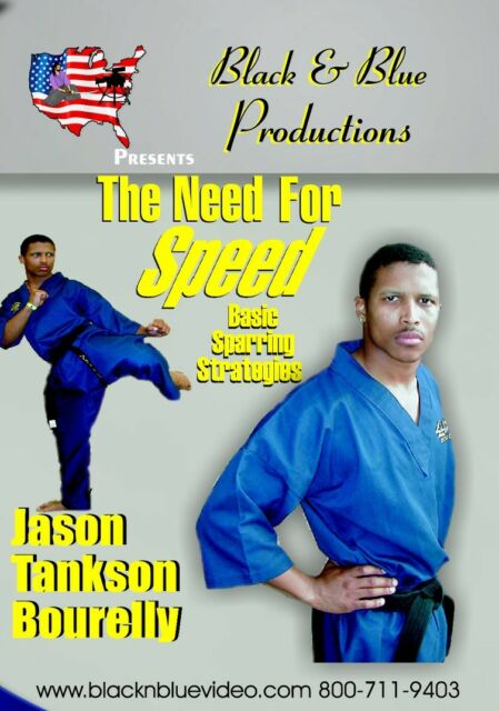 Need For Speed with Jason Tankson-Bourelly Point Sparring DVD