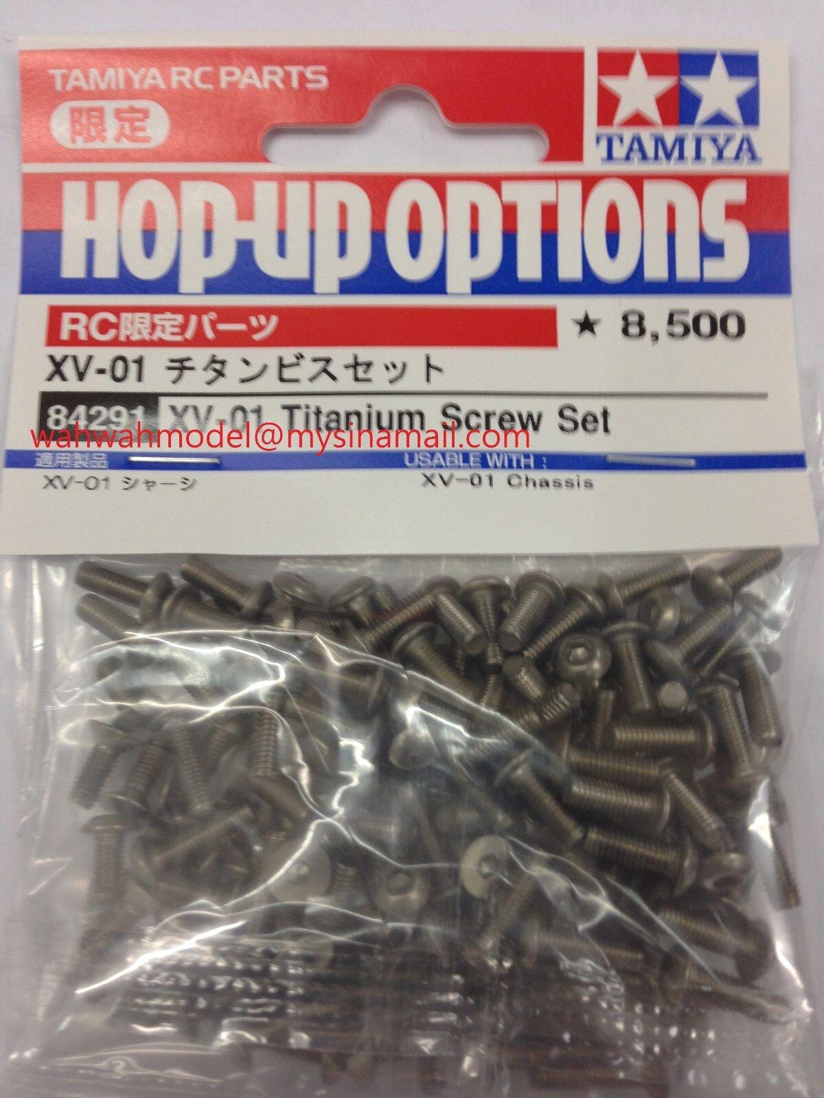 Tamiya 84291 RC XV-01 Titanium Screw Set