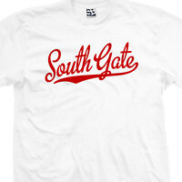 South Gate Script Tail Shirt - Sports Team School High Rams - All Sizes & Colors