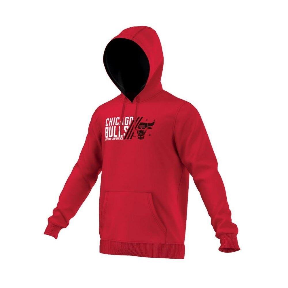 Adidas Chicago Chicago Chicago Bulls Hoodie Pullover Kapuzenpullover Herren 5c8e7b