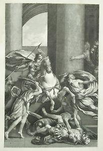 Meliodor-batida-por-algunos-angeles-whipped-by-grabado-c1850-Emile-Giroux-sc