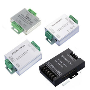 12A-24A-30A-Aluminum-Led-RGB-Amplifier-Controller-Common-Anode-for-Led-Strip